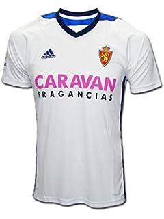 Adidas Real Zaragoza Camiseta de Equipación, Hombre