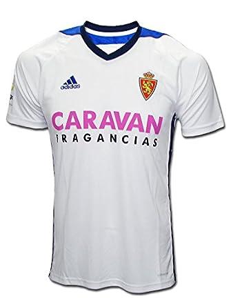 adidas Rz H JSY Camiseta de Equipación-Real Zaragoza, Hombre