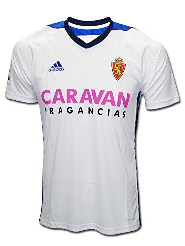 Adidas RZ H JSY Camiseta de Equipación-Real Zaragoza, Hombre, Blanco, S: Amazon.es: Deportes y aire libre