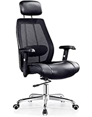 Office Mix mesh back manager chair A-921 HB Black