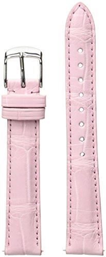 Watch Michele Alligator (MICHELE MS16AA010660 16mm Leather Alligator Pink Watch Strap)