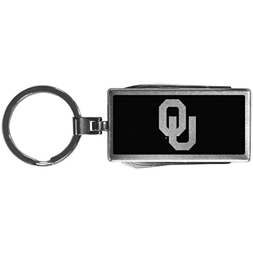 Siskiyou Sports NCAA Oklahoma Sooners Multi-Tool Key Chain, Black