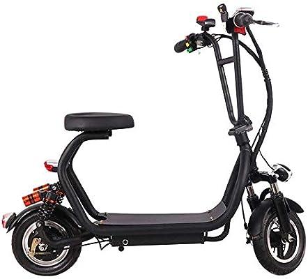 WULY Coche Eléctrico para Adultos Mini Bicicleta Plegable Moto ...