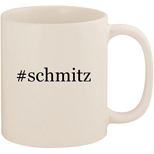 #schmitz - 11oz Ceramic Coffee Mug Cup, White (Jimmy Katze)