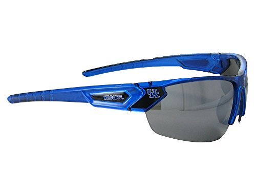Kentucky Wildcats Heart - Kentucky Wildcats UK Blue Transparent Sunglasses S12BL