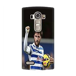Cool 3D Design Funda Case for LG G4, Queens Park Rangers Football Club Charlie Austin LG G4 Scratch Resistent Protective Funda Case