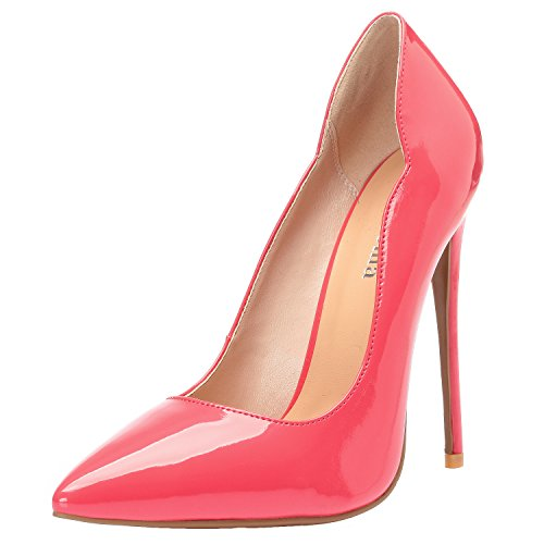 Femme Zaproma Peach Escarpins 01 Arc Pour Red UqrqITBx