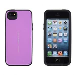 Goospery Focus Bumper Case for iPhone 4/4S - Retail Packaging - Purple