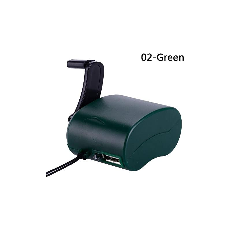 Eachbid USB Hand Crank Charger Generator