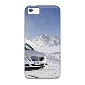Fashion IcH220OLaz Cases Covers For Iphone 5c(2010 Mercedes Benz E Class 4matic 3)