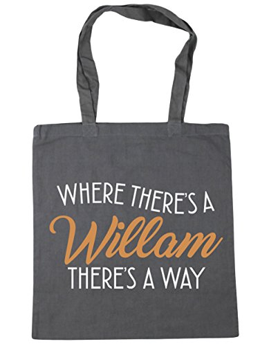 Way HippoWarehouse Grey There's Beach Bag 10 Tote litres 42cm Where x38cm Willam A Shopping There's A Graphite Gym ggYrnf