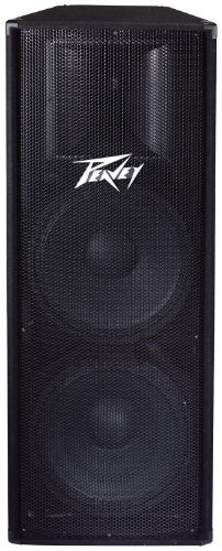 Peavey PV215 PA Speaker Cabinet, Two 15'' woofers and a titanium compression driver by Peavey