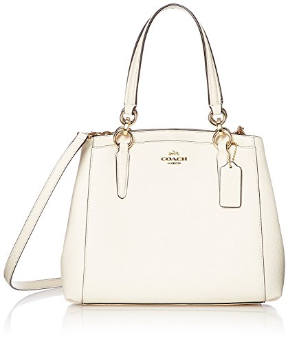 COACH Women's leather Hand shoulder bag F57847 (white)