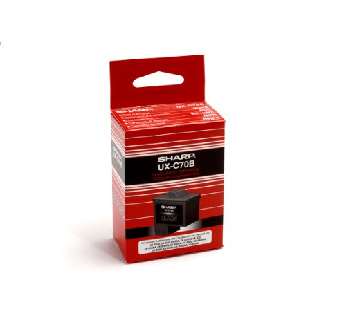 Sharp UX C70B Black Cartridge UX B700
