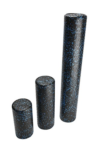 Foam-Roller-LuxFit-Speckled-Foam-Rollers-for-Muscles-10-Year-Warranty-with-Free-Online-INSTRUCTIONAL-VIDEO-Extra-Firm-High-Density-For-Physical-Therapy-Exercise-Deep-Tissue-Muscle-Massage