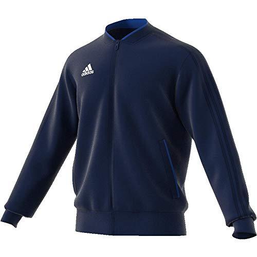 Pes Jkt blanc Adidas Con18 Uomo Bleu Nuit Giacca 6w551qz