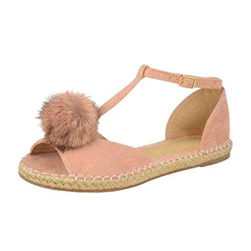 Sandaalit Peep Roman Tasainen Värikäs Vapaa Naisten Toe Hyvät Muoti Vaaleanpunainen Tm Kengät Kesällä wnfq0fvI