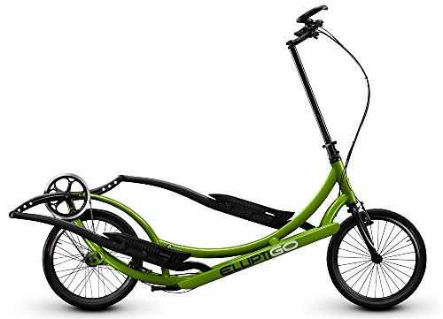ElliptiGO 8C – The World's First Outdoor Elliptical Bike (Green)