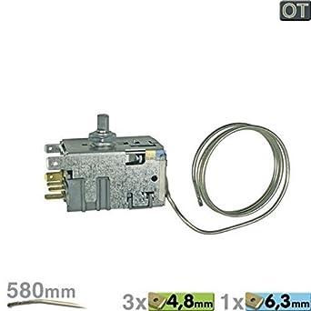 Termostato Danfoss 077b6700 BSH Original Bosch nº 170459 00170459 Miele 5433070