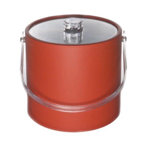 (Mr. Ice Bucket 704-1 Regency 3-Quart Ice Bucket, Orange)