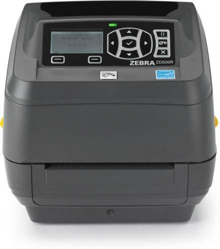 Zebra ZD500R RFID, 300dpi, DT/TT Cutter, Serial, USB, Parallel, 35-ZD50043-T2E3R2FZ (Cutter, Serial, USB, Parallel WLAN, ()