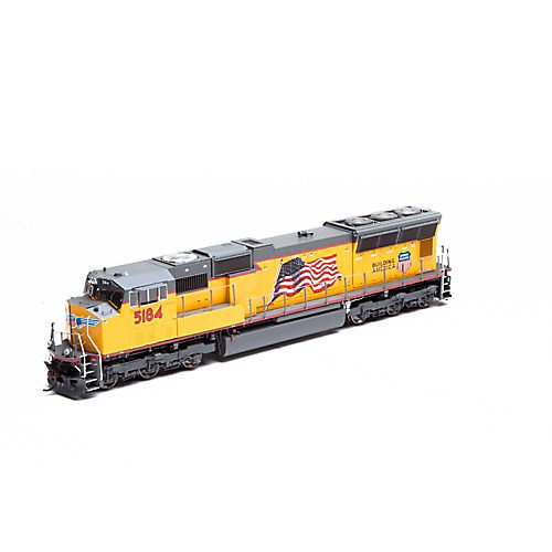 HO SD70M w DCC & Sound UP Flag #5184 -  ATHEARN, ATHG69341