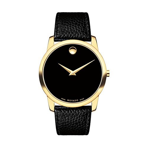 Movado Mens Museum Classic Analog Business Quartz Watch (Imported) 0607014