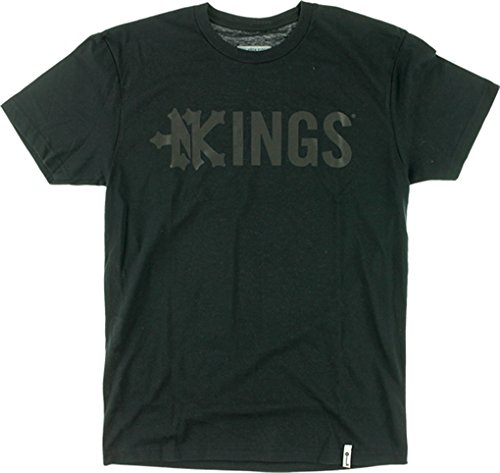 Zoo Kings Drop Kings Short Sleeve S-Black T-Shirt by Zoo York Skateboards