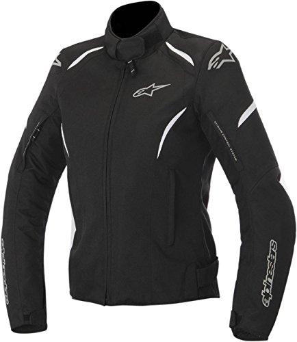 Alpinestars Women's Stella Gunner Waterproof Black/White Jacket, S
