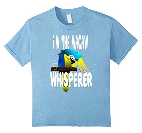 Kids Macaw Whisperer Novelty T Shirt for Parrot Lovers 4 ...