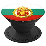 Bulgaria Bulgarian Flag Zname - PopSockets Grip and Stand for Phones and Tablets