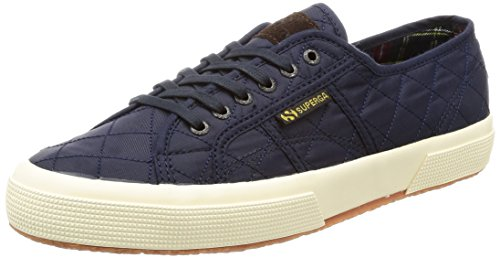 Adulto a Sneaker Superga Unisex Collo 2750 Quiltnylu Navy Basso – HqTw8Z