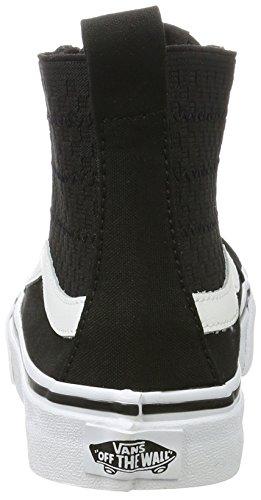 Mujer Negro Slim Sk8 hi Gore Para De Entrenamiento Zapatillas Vans Gore checker RnzwqRx