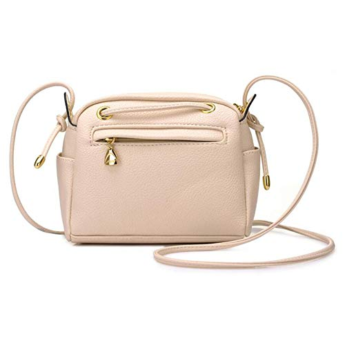 BAILIANG Messenger Mini Drawstring Simple Lady Sac Beige à Packet Bag Main Sac Bandoulière à à Main Sac rqEr5