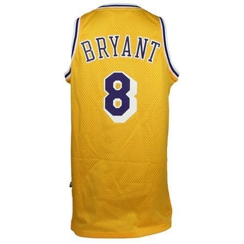 Kobe Bryant Los Angeles Lakers Hardwood Classics  8 Swingman Jersey (Gold)  XL  Amazon.co.uk  Sports   Outdoors ef6c3f823