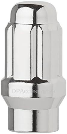 DPAccessories LCE3L2H-S-04PAR 自動車ラグナット 100 Lug Nuts LCE3L2HCSCH04100