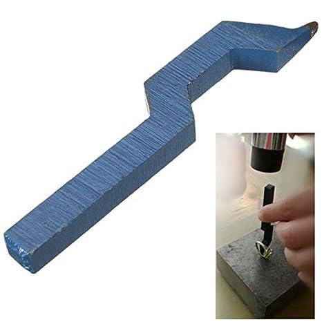 Werse 925 acero curvo sello herramienta joyería anillo marcador marca para anillo pulsera reloj: Amazon.es: Bricolaje y herramientas