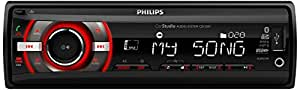 Philips PHICE138 - Radio para coche, color negro