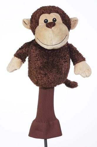 Mulligan The Monkey 460 cc Golf Head Cover Soft Cute, Outdoor Stuffs