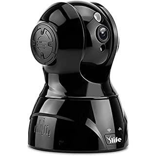 Ylife WiFi Wireless Security Camera, Two Way Audio, Night Vision, Motion Detection, Indoor Home Dome Surveillance (Black)