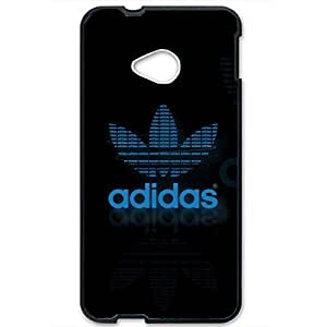 Unique Style Custom style Adidas Phone Case Cover for Htc One M7 3D Hard cover Case_Black