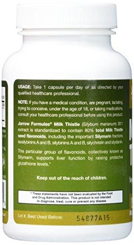 Jarrow Formulas Milk Thistle (Silymarin Marianum), Promotes Liver Health, 150 mg per Capsule, 200 Veggie Capsules by Jarrow Formulas (Image #3)