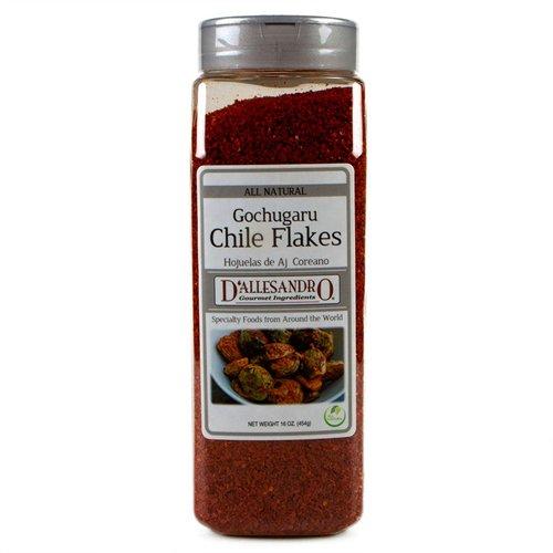 Gochugaru Chiles Flakes - 16 oz Jar