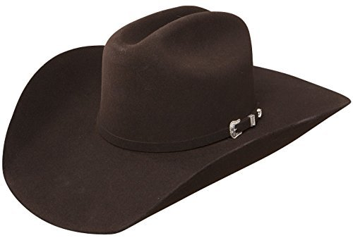 Stetson Stallion Collection The Oak Ridge Brown Cowboy Hat (6 3/4)