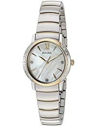 Women's Quartz Stainless Steel Casual WatchMulti Color (Model: 98R231)