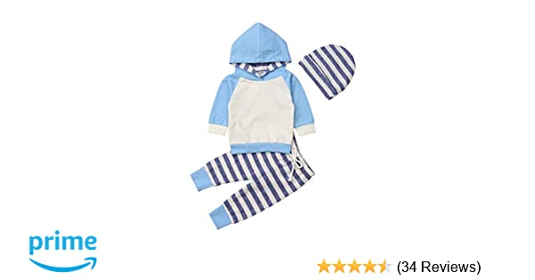 2709965e2 Amazon.com  Baby Boys Girls Clothes Long Sleeve Hoodie Tops ...