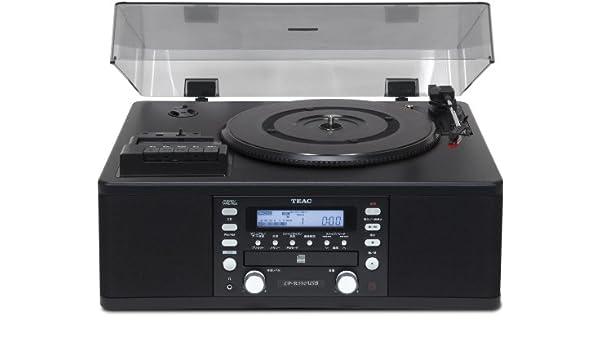 Amazon.com: Teac LP-R550USB B schwarz: Musical Instruments