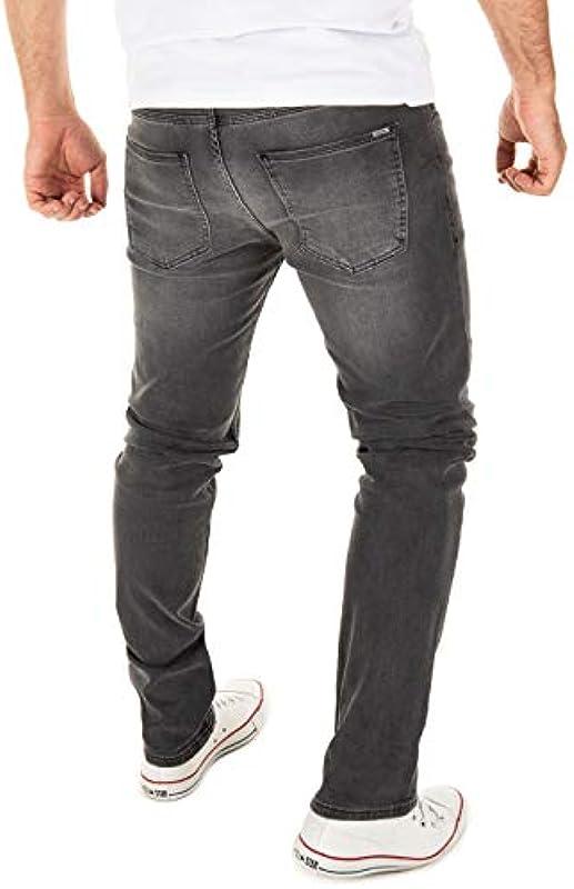 WOTEGA dżinsy męskie Justin Slim-Fit: Odzież