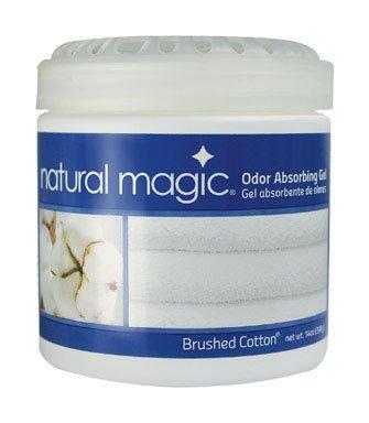 Natural Magic Odor Absorbing Gel, Brushed Cotton Scent, 14 oz