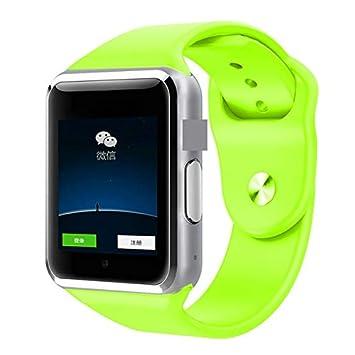 WAIYY Smartwatch Bluetooth Soporte Deportivo Llamada Música 2G con ...